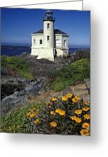 Bandon Lighthouse Greeting Card