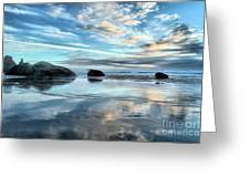 Bandon Rock Garden Greeting Card