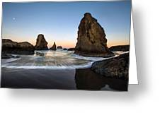 Bandon Tides Greeting Card