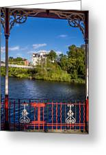 Bandstand View Greeting Card