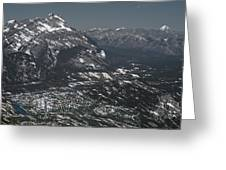 Banff Alberta Canada Greeting Card