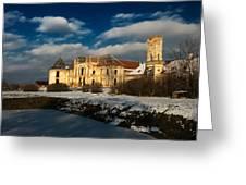 Banffy Castle In Transylvania Greeting Card