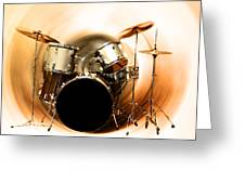 Bang On The Drum All Day Greeting Card