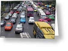 Bangkok Street View  Greeting Card