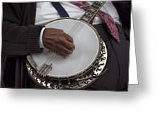 Banjo Music Greeting Card