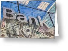 Bank Greeting Card