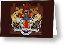Bank Of Bermuda Coat Of Arms Greeting Card
