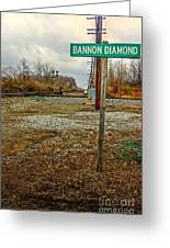 Bannon Diamond 01 Greeting Card