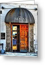 Banque Greeting Card