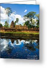 Banteay Srei - Angkor Wat - Cambodia Greeting Card
