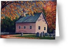 Baptist Church  Cades Cove Greeting Card