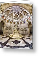 Baptistry At Saint John The Divine Cathedral Greeting Card