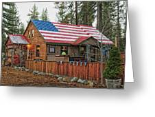 Bar And Grill In South Lake Tahoe Greeting Card