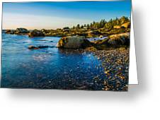 Bar Harbor Coast Greeting Card