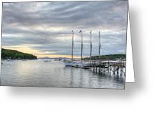 Bar Harbor Sunrise Greeting Card