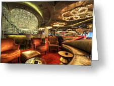 Bar Lounge Greeting Card
