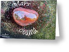 Barack Obama Mars Greeting Card