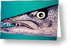 Baracuda Greeting Card