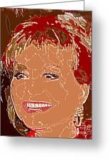 Barbara Walters Greeting Card