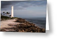 Barbers Point Lighthouse Greeting Card by Jason Bartimus