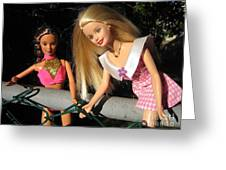Barbie Escapes Greeting Card