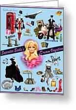Barbie's Superstar Dream Vacation Greeting Card