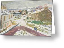 Barbon In The Snow Greeting Card