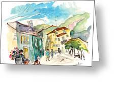 Barca De Alva Houses 01 Greeting Card