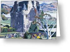 Barcaldine Castle Greeting Card