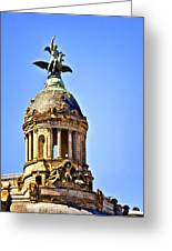 Barcelona Dome Greeting Card