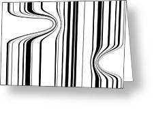 Barcode  C2014 Greeting Card by Paul Ashby