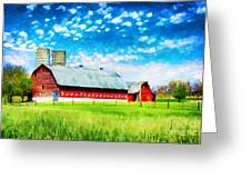 Bardstown Kentucky Greeting Card by Darren Fisher
