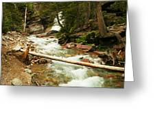 Baring Falls Greeting Card
