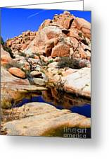 Barker Dam Big Horn Dam By Diana Sainz Greeting Card