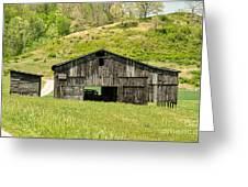 Barn - Tire Center Greeting Card
