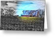 Barn 23 - Featured In Comfortable Art  And Artists Of Western Ny Groups Greeting Card
