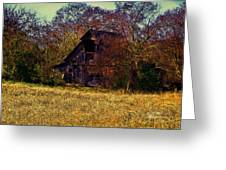 Barn And Diamond Reo-featured In Barns Big And Small Group Greeting Card
