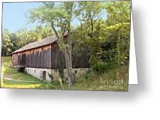 Barn At Adena Greeting Card