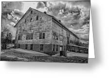 Barn At Amhi   7k00333 Greeting Card