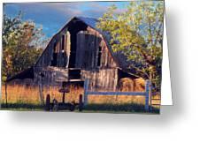 Barn At Ash Flat Arkansas Greeting Card