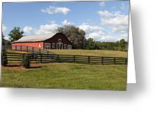 Barn At Yonah Mountain Winery 001 Greeting Card
