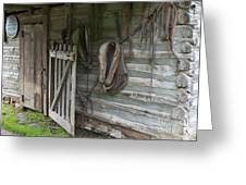 Barn - Carthage Missouri Greeting Card