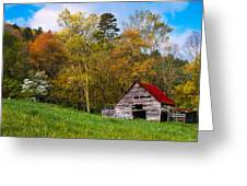 Barn Colors Greeting Card