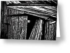 Barn Doors Greeting Card by Walt Foegelle