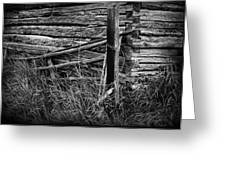 Barn Edge  Greeting Card