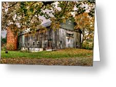 Barn House Greeting Card