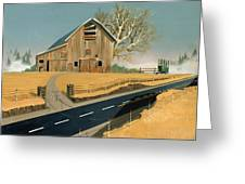 Barn Greeting Card