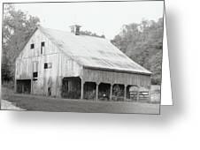 Barn Missouri Bottomlands Greeting Card