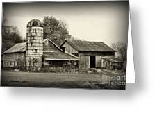Barn - Old And Run Down Greeting Card