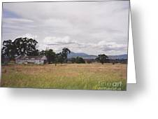 Barn On Hway 84 Greeting Card